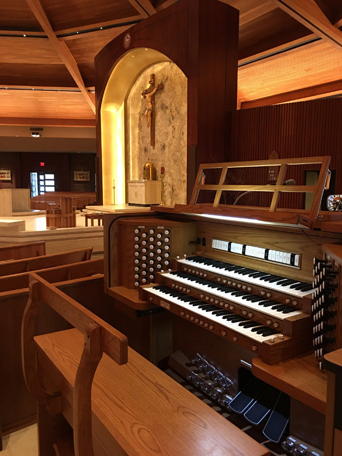 St. Joseph Catholic Church, Shawnee, KS - Allen L-343DK combination organ